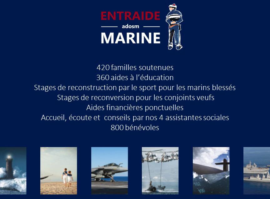 La Mutuelle Epargne Retraite soutient l'Entraide Marine-Adosm 2
