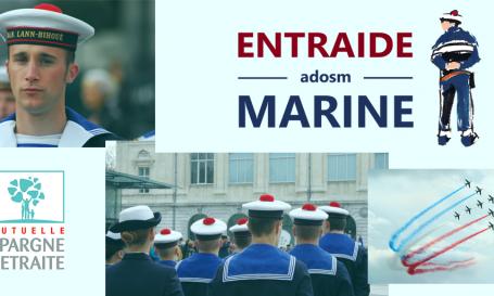 La Mutuelle Epargne Retraite soutient l'Entraide Marine-Adosm 3